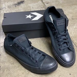 CONVERSE C TAYLOR AS OX BLACK MONOCHROME